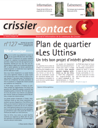 Crissier Contact