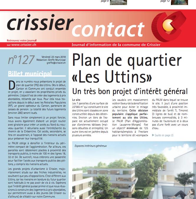 Crissier Contact